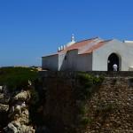 Ermida de Santo Estêvão na ilha do Baleal em Peniche