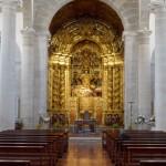 Interior da Igreja de São Pedro em Peniche GoPeniche