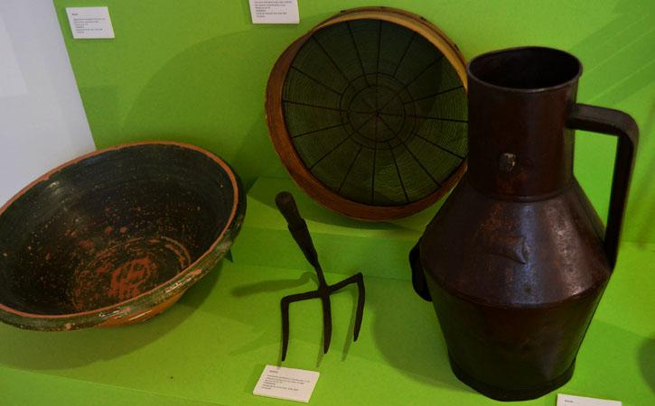 Centro Interpretativo de Atouguia da Baleia, Peniche objectos