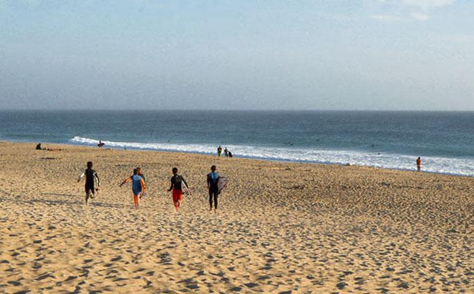 As deslumbrantes praias de Peniche, PRAIA DO PORTO DE AREIA SUL