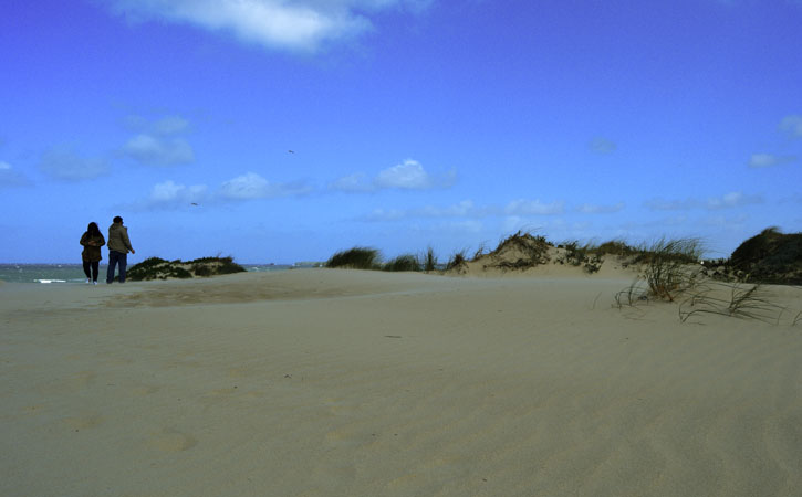 As deslumbrantes praias de Peniche PRAIA DE PENICHE DE CIMA