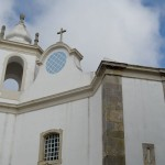 São José Church facade Atouguia da Baleia at Peniche