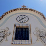 Ferrel Chapel facade detail at Peniche