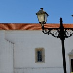 Nossa Senhora da Ajuda Church old lamps in Peniche GoPeniche Your Local Touristic Guide
