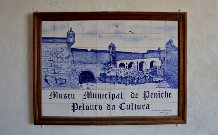 Peniche Museum entrance tile